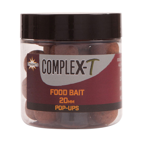 Бойлы плавающие DYNAMITE BAITS Foodbait CompleX-T 20 мм.