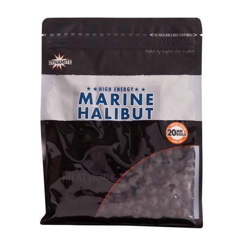 Бойлы тонущие DYNAMITE BAITS Premium Marine Halibut 20 мм. 1 кг.