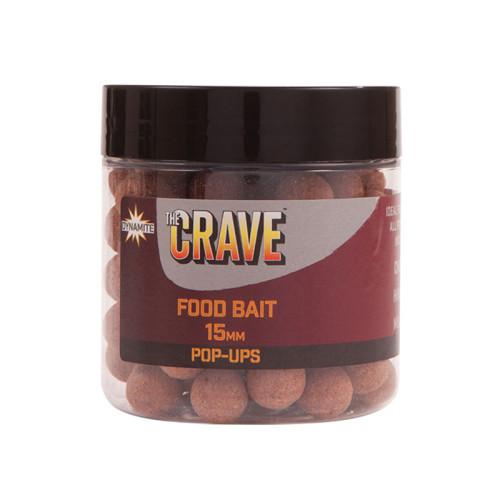 Бойлы плавающие DYNAMITE BAITS Foodbait The Crave 15 мм.