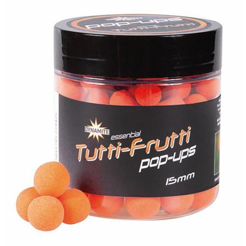 Бойлы плавающие DB Fluro Pop-Up - Tutti Frutti - 15 мм.