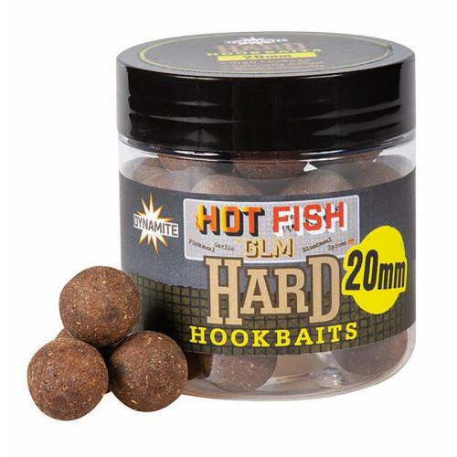 Бойлы DB Hard Hook Baits - Hot Fish & GLM 20 мм.