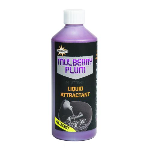 Аттрактант DYNAMITE BAITS Liquid Attractant Mulberry & Plum 500мл.