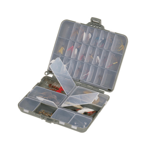 Коробка PLANO 1070-00 двухсторонняя для маленьких джиг-головок и мушек, 11-32 секции