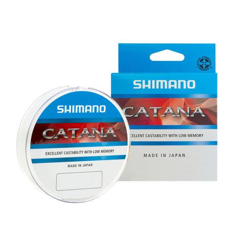 Леска SHIMANO Catana Spinning 100 м прозрачная 0,185 мм 3,5 кг