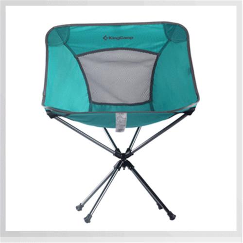 3951 Rotation Packlight Chair кресло алюм. (55Х58Х38/70 бирюза)