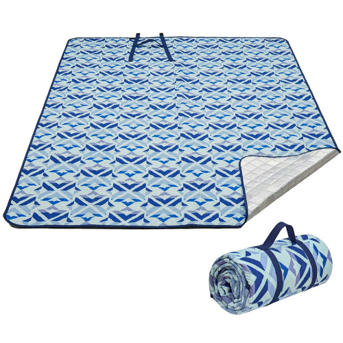 2004 Ariel PicnicBlanket Blue плед 200x200