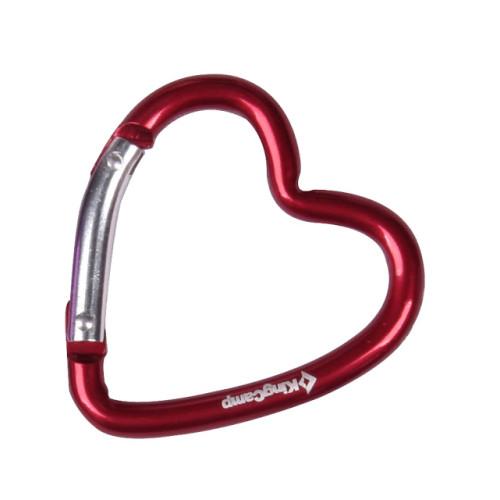 8017 HEART CARABINER брелок-карабин