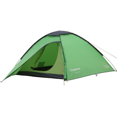 3038 ELBA 3 палатка (зелёный)