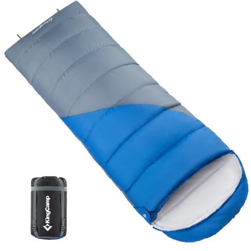 3212 VALLEY 250 -3С  спальный мешок (синий, левый)