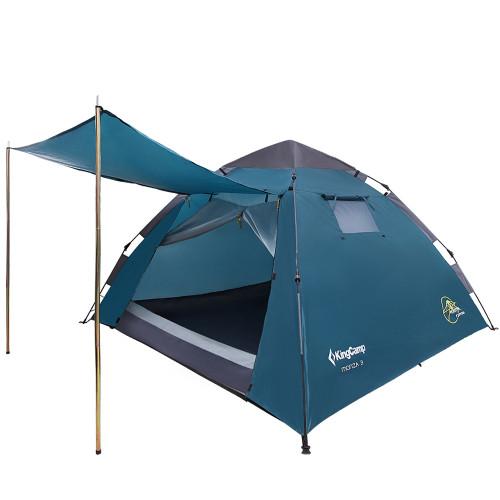 3094 MONZA 3  палатка - автомат (3, голубой)