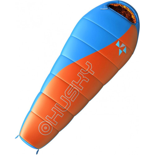 HUSKY K MERLOT -10°С 170х70 спальный мешок (оранжевый, правый)