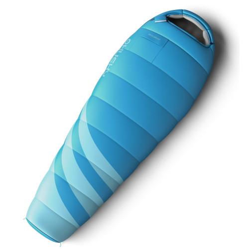 LADIES MAJESTY -10°С 200х85 спальный мешок (голубой, правый)