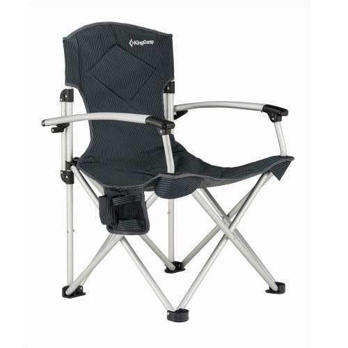 3808 Delux Arms Chair   кресло скл. алюм (67Х55Х97)