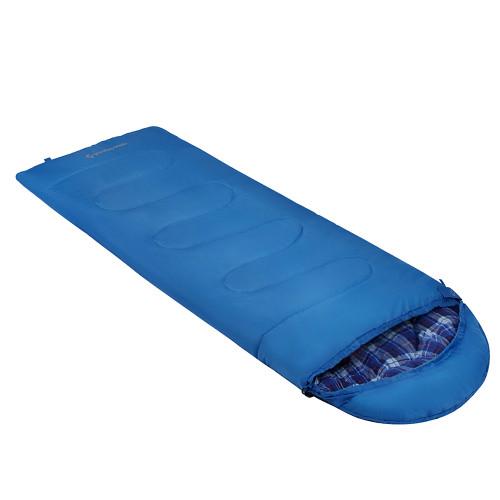 3221 OASIS 250S -3C 140+25 х 70 см спальный мешок ( синий, правый)