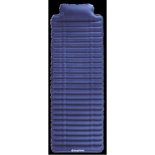 1903 COMFORT LIGHT коврик надувной (синий, 189 х 66 х 7/11 см)