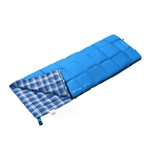3103 ACTIVE 250 -5С 190x75 спальный мешок (синий, правый)