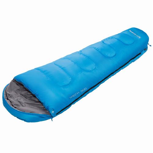 3131 TRECK 300  215x80x55 спальный мешок (-13С, синий, правый)