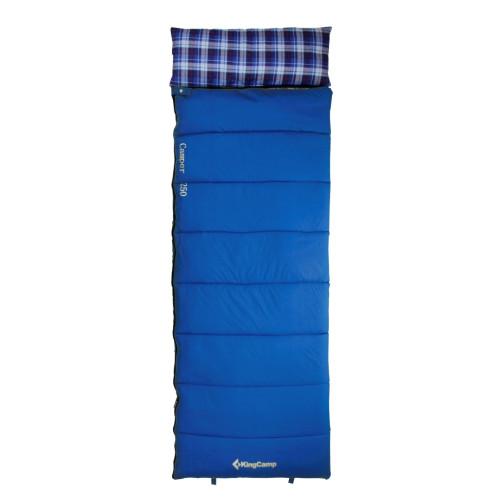 3165 CAMPER 250 -5С 220x75 спальный мешок (синий, правый)