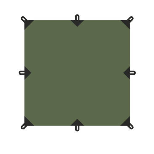 TENT  тент 4X4м  Talberg (-, зелёный)