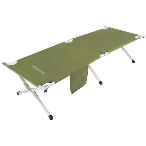 3806A Armyman Camping Bed   кровать скл. алюм (зеленый 190Х63Х42)