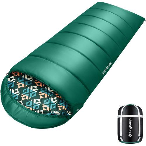 2001 COMFORT 300XL -13С 230x92 спальный мешок (-13°C, зелёный, левый)
