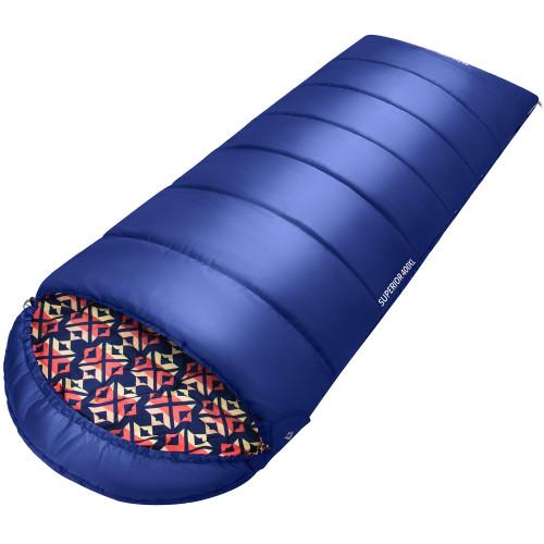 2003 SUPERIOR 400XL -18С 230x92 спальный мешок (-18°C, синий, левый)