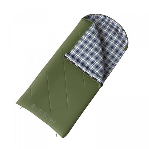GARY - 5°С 220x90 спальный мешок (зелёный, правый )