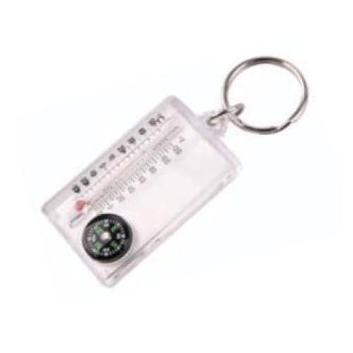 8043 THERMOMETER COMPASS брелок термометр-компас