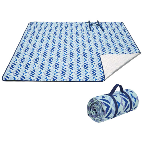 2006 Ariel PicnicBlanket Blue плед 300x300