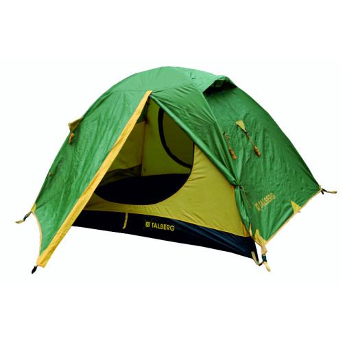 SLIPER 3 палатка Talberg зелёный/жёлтый (зелёный/желтый)