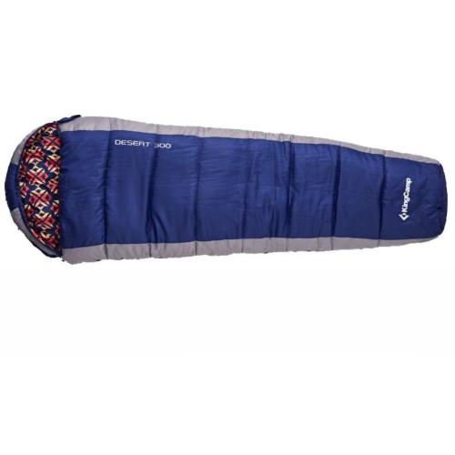 2023 DESERT 300 -15С 215x80x55 спальный мешок (-15°С, синий, левый)