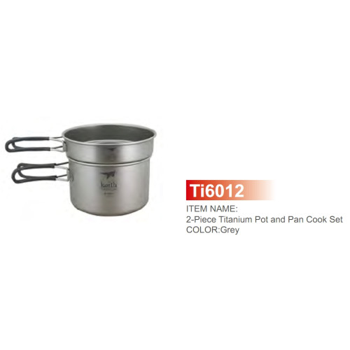 Ti6012 Ultralight 2-piece CookSet 400, 800ml набор посуды