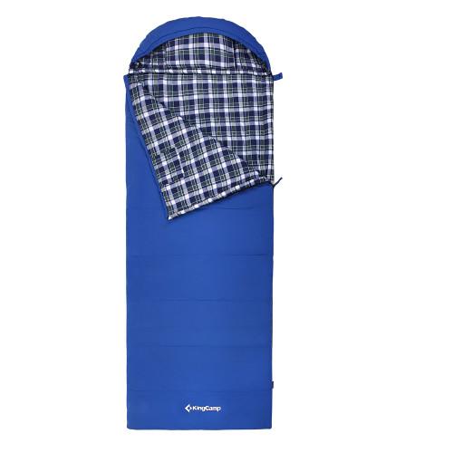 3128 COMFORT 280 -15С 210x90 спальный мешок (-15С, синий левый)