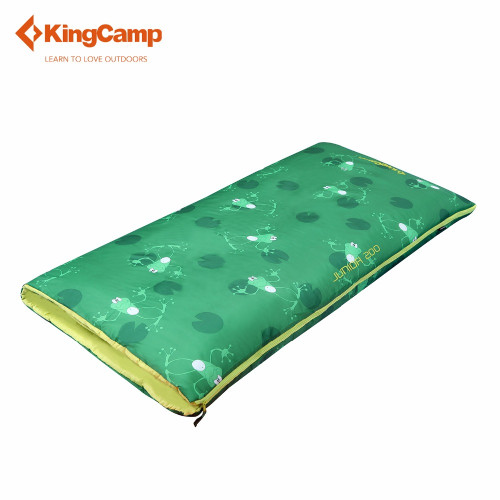 3130 JUNIOR 200 +4C спальный мешок (+4С, зелёный левый)