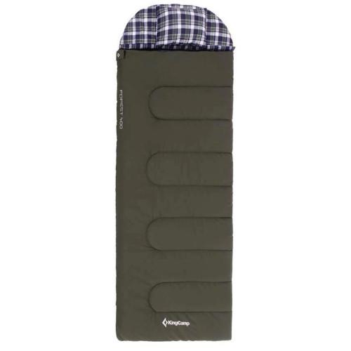 3154 FOREST 600L -25C спальный мешок (зеленый правый)