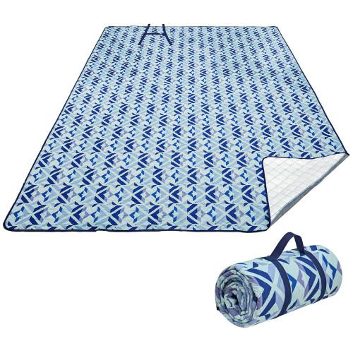 2003 Ariel PicnicBlanket Blue плед 200x150