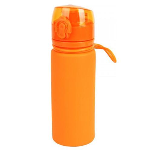 Tramp бутылка силиконовая 0,5 л (оранжевый)