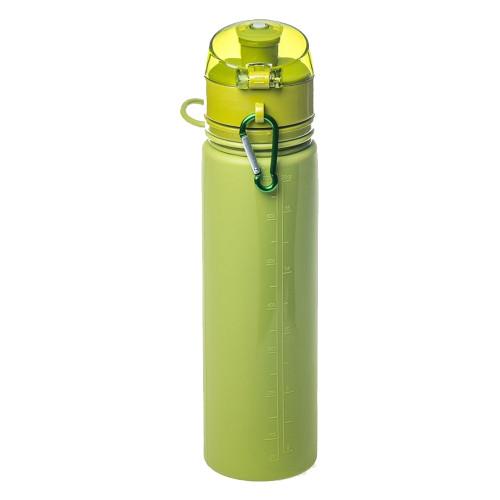 Tramp бутылка силиконовая 0,7 л (оливковый)