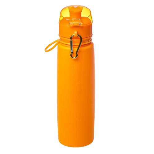 Tramp бутылка силиконовая 0,7 л (оранжевый)