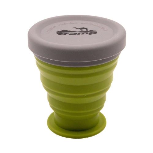 Tramp стакан силиконовый 200мл TRC-126 (оливковый)