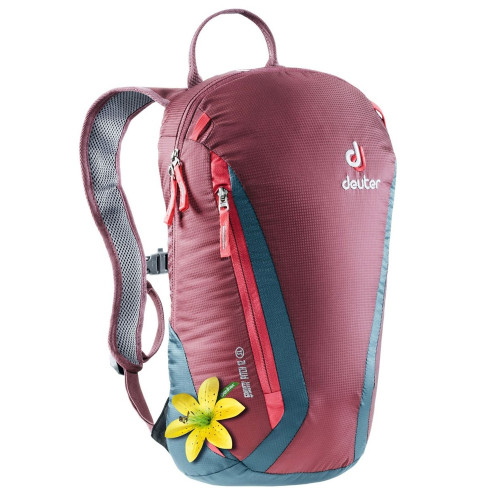 Deuter рюкзак Gravity Pitch 12 SL (бордовый/морская волна)