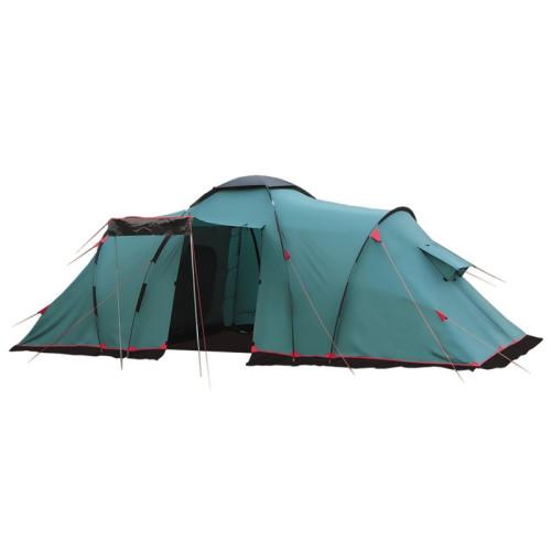 Палатка трехкомнатная Brest 9 (V2) (зеленый)