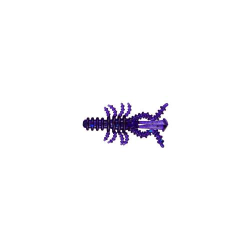 Силиконовая приманка Moussy 015 Темный фиолетовый